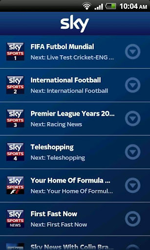 Sky Sports TV subscription viewing app now on Android | EURODROID