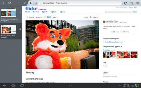 android firefox 15