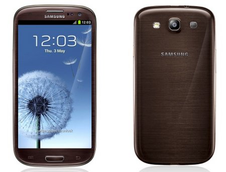 brown galaxy s3
