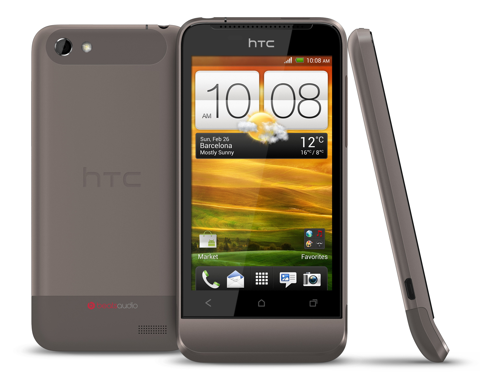 htc one v android 4 0 on a 3 7 screen plus htc chin