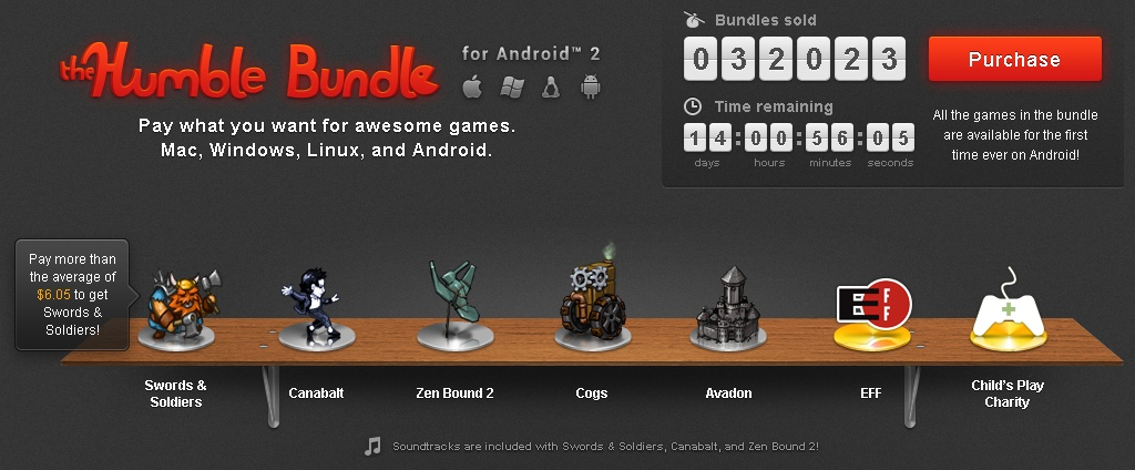 Humble Bundle #2 now out for Android