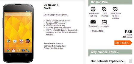 nexus 4 three