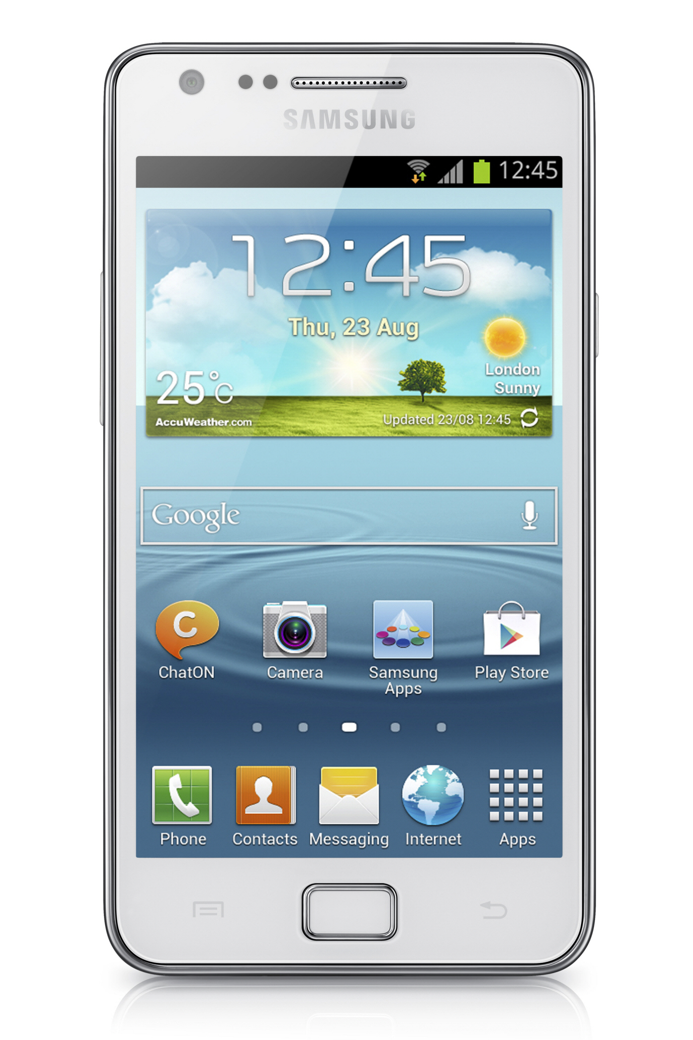 Samsung Galaxy S II Plus – Android 4.1 on a dual-core 1.2GHz