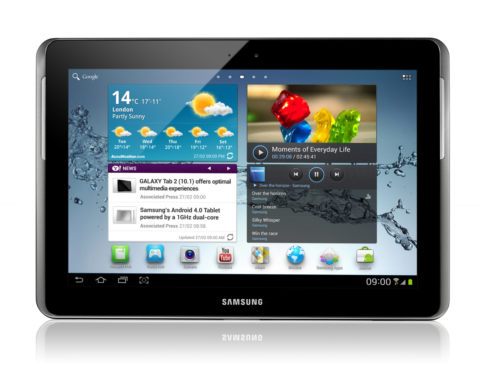 INTRODUCING SAMSUNG'S NEW GALAXY TAB 2 SERIES