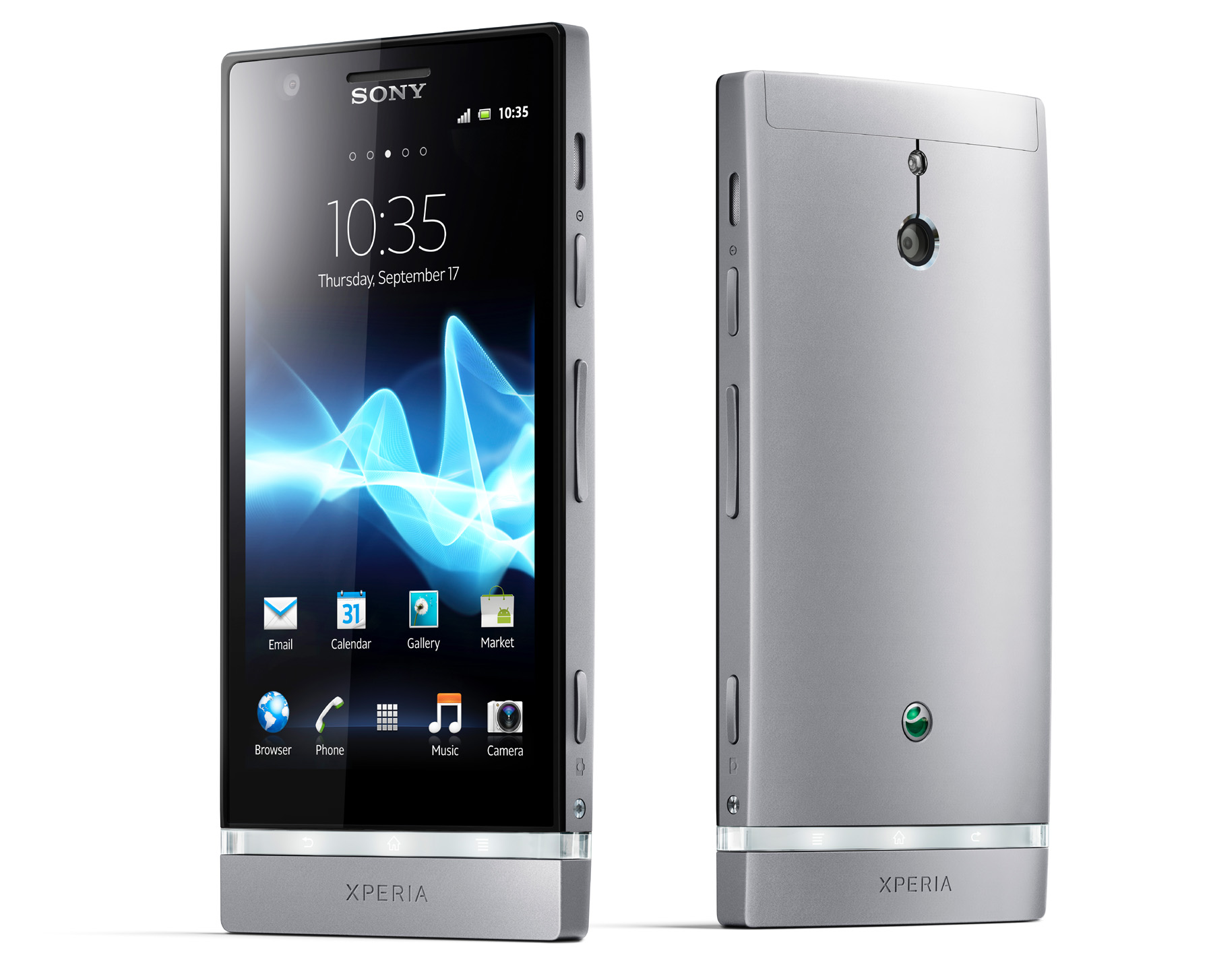 The Xperia P will launch with Android 2.3 onboard, with Sony promising