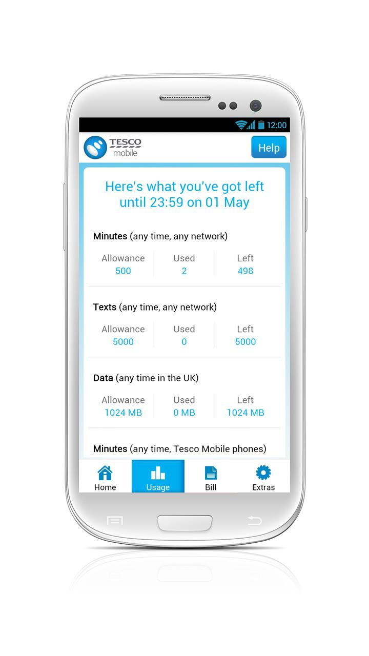 Phone Tesco Android Phones tesco mobile launches account management uk android app eurodroid 1