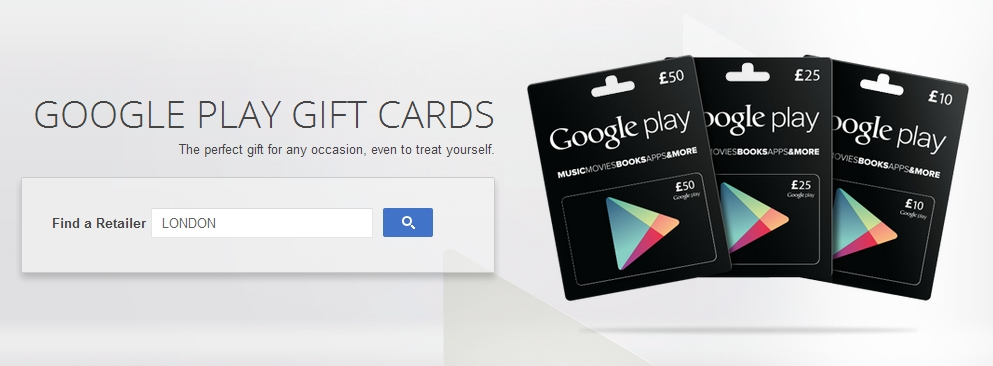 Google confirms Tesco and Morrisons as Play Store Gift Card ...