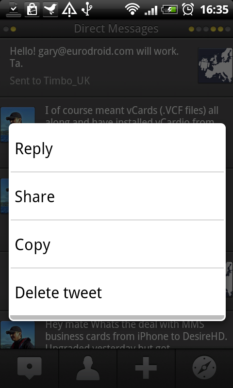 Love Android TweetDeck. It makes me want to start pretending to be