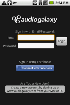 audiogalaxy android 2