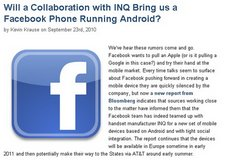 facebook inq phone