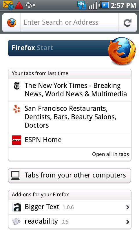 password download firefox mobile android the current