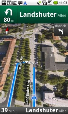 german google maps navigation 2