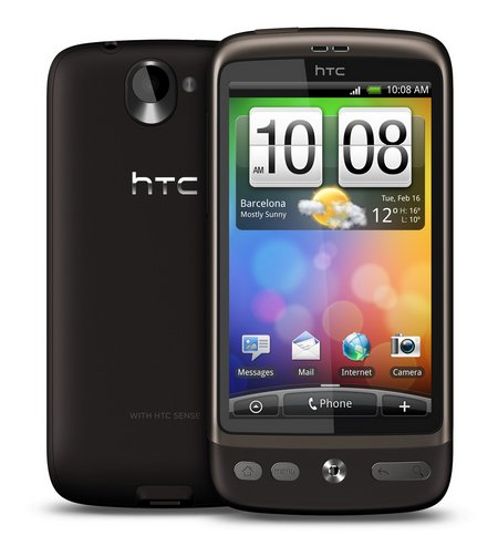 htc desire android update