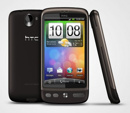 htc desire orange stock