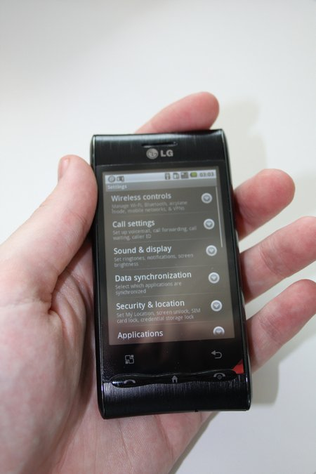 lg optimus review