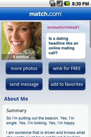 all free dating site browsing