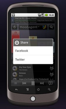 moodagent android app 2
