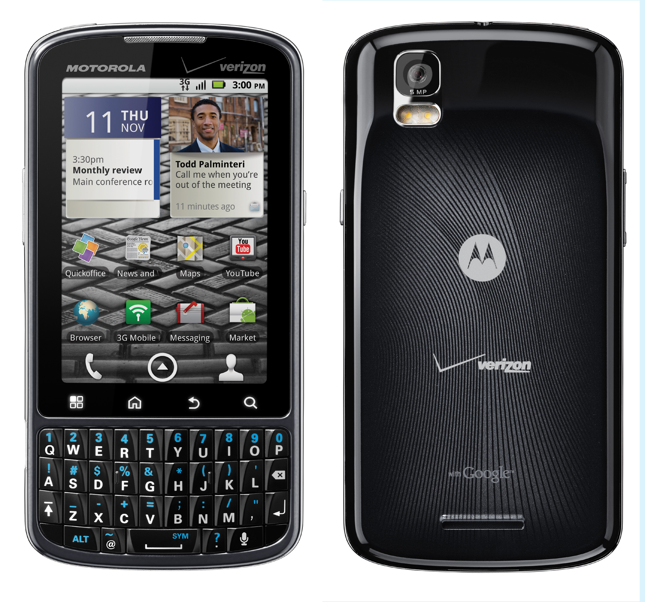 Camera Android Phone With Qwerty Keypad motorola droid pro 3 1 screen android 2 qwerty keypad keypad