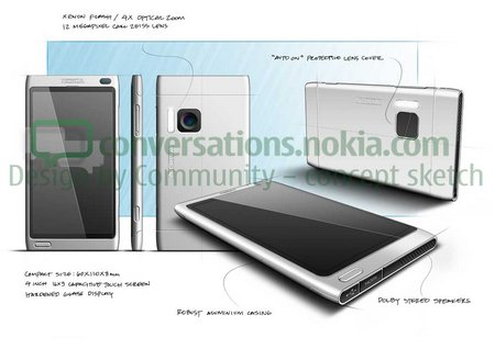nokia design community concept