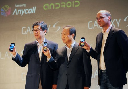samsung galaxy s android korean launch 1