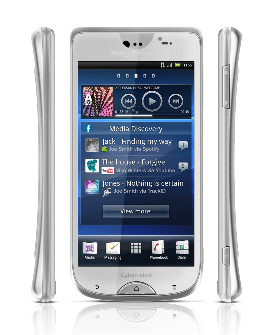 Phone Sony Ericson Android Phone sony ericsson cyber shot android phone pictured eurodroid cybershot 1