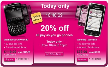 t-mobile uk android sale