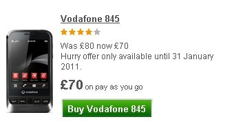 vodafone 845 discounted