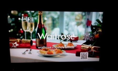 waitrose qr code tv advert