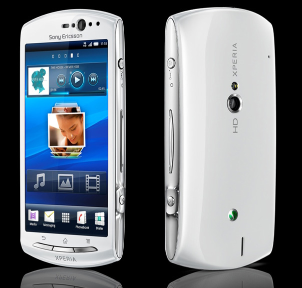 Sony Ericsson Xperia Neo V – Android 2.3.4 on a 3.7″ screen
